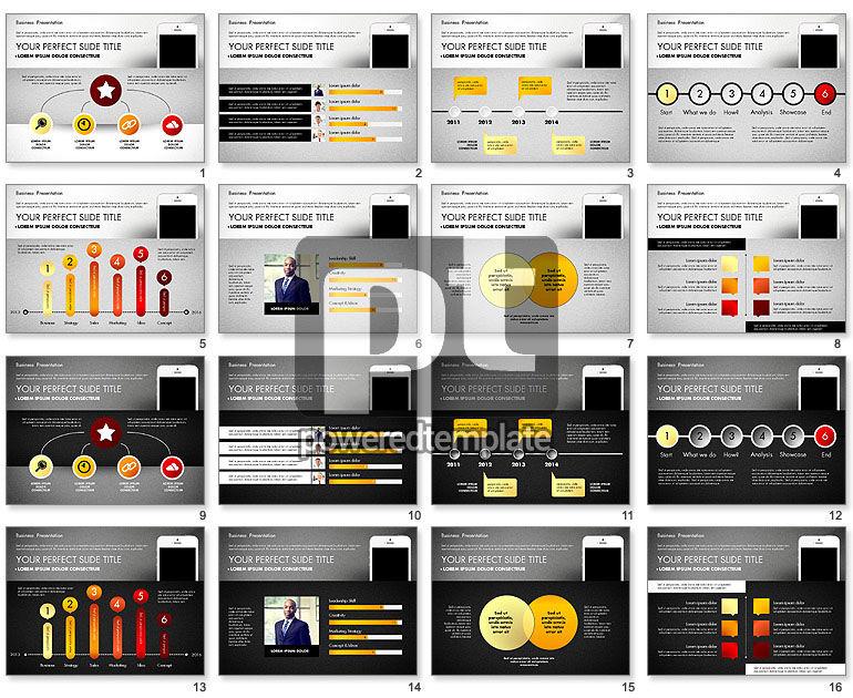 Rapporto di affari presentazione concept
