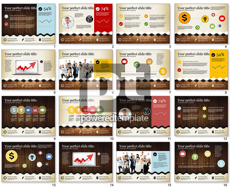 Woody Style Presentation Template