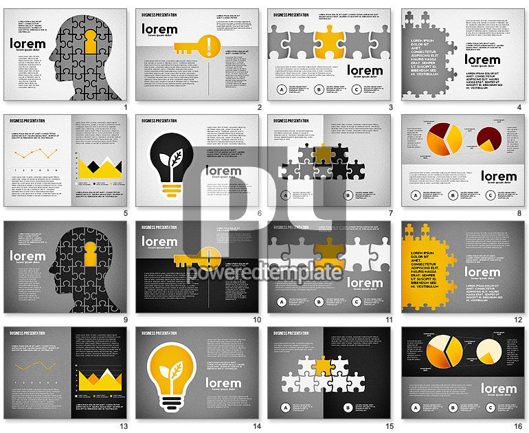 Puzzle Shapes and Silhouettes