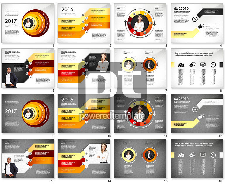 Stages with Photo and Shapes Toolbox