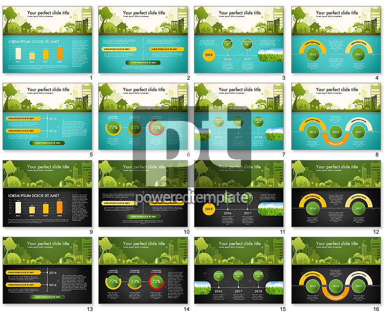 Green City Presentation Template