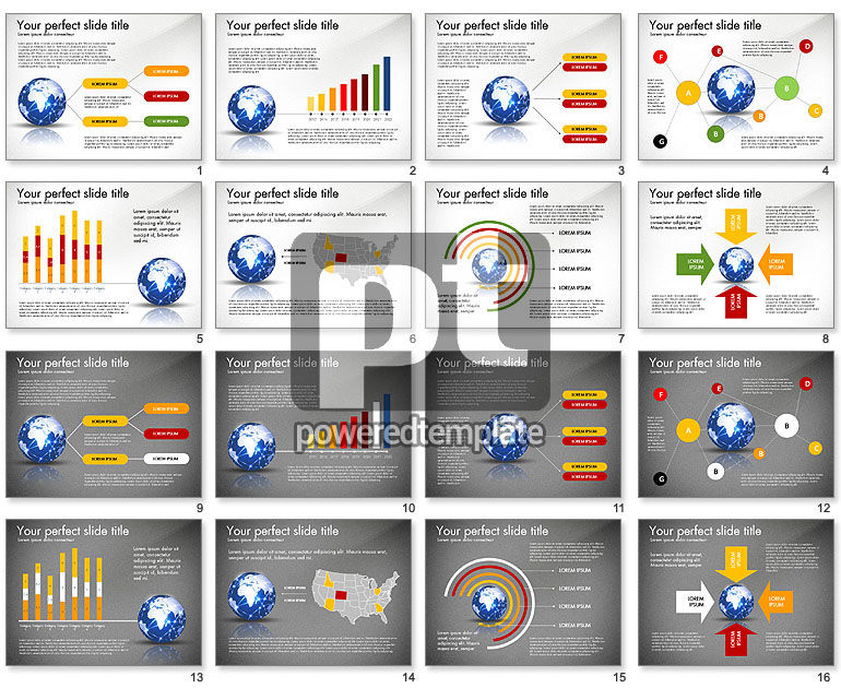 Global Network Presentation Template