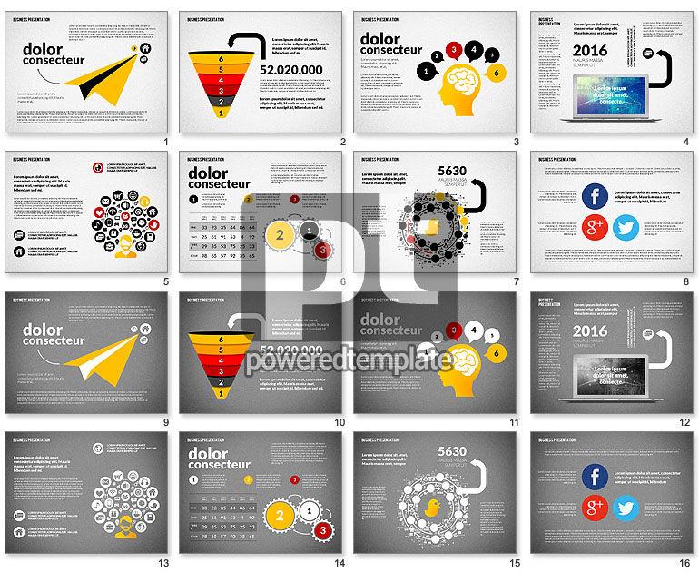 Creative Social Presentation Concept