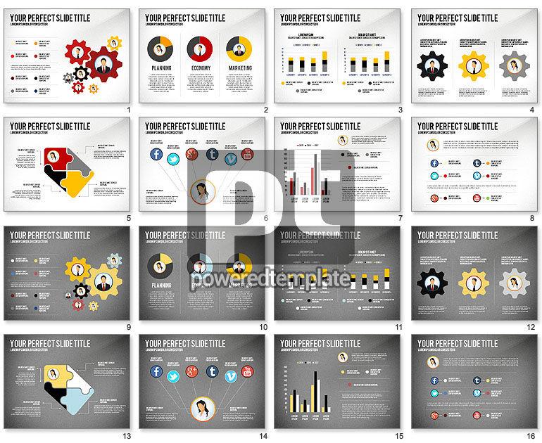 Business Team Presentation Concept