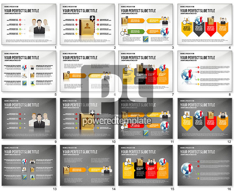 Company Management Presentation Template