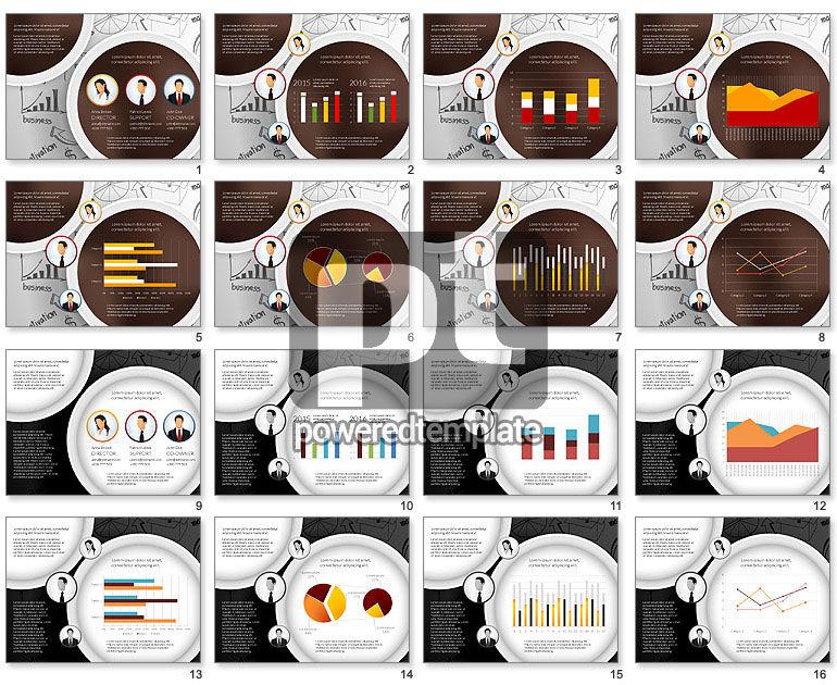 Data Driven Company Results Concept