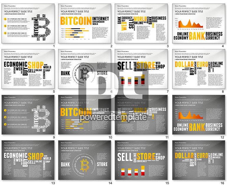 Bitcoin Präsentationsvorlage für PowerPoint Präsentationen, jetzt ...