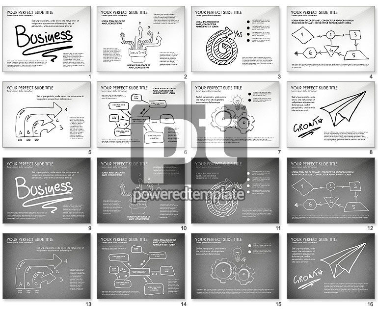 Sketch Style Business Presentation