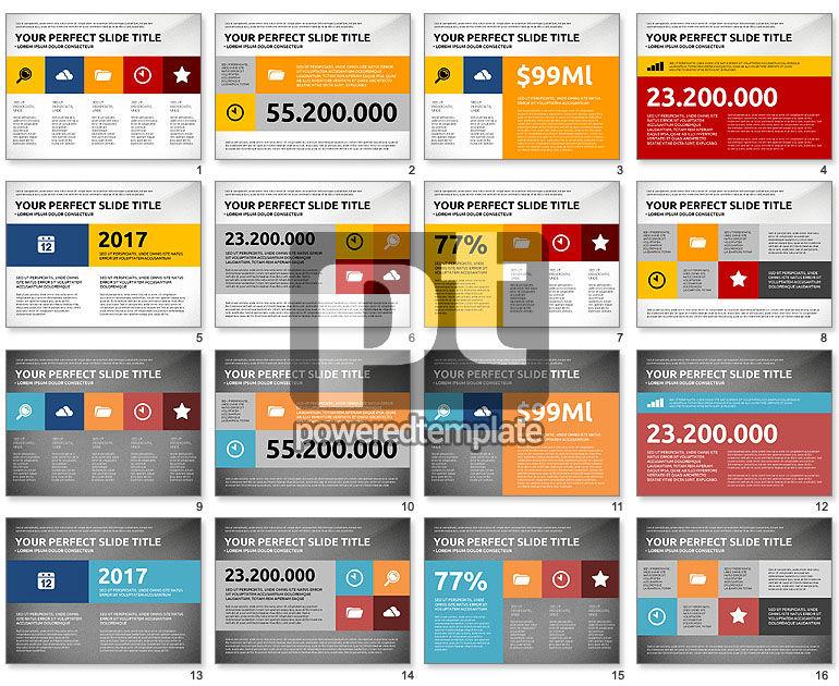 Flat Design Infographics Presentation