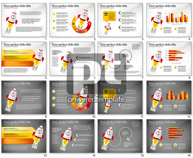 Launching a Business Presentation Template