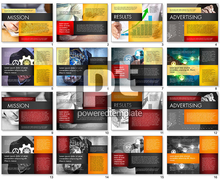 Company Profile Presentation Concept