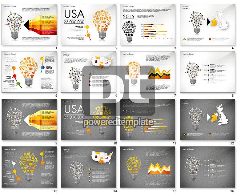Idea Infographics Presentation Concept