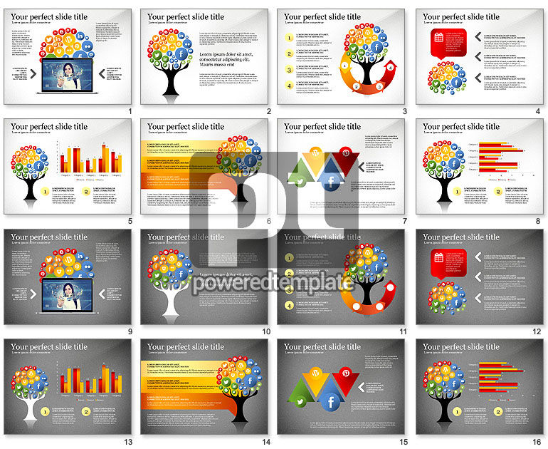 Social Tree Presentation Template