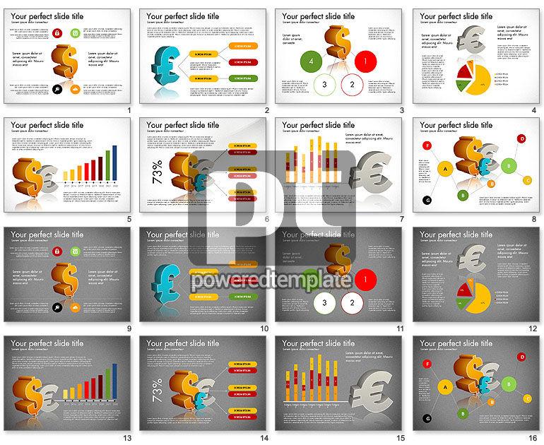 Currency Exchange Infographics