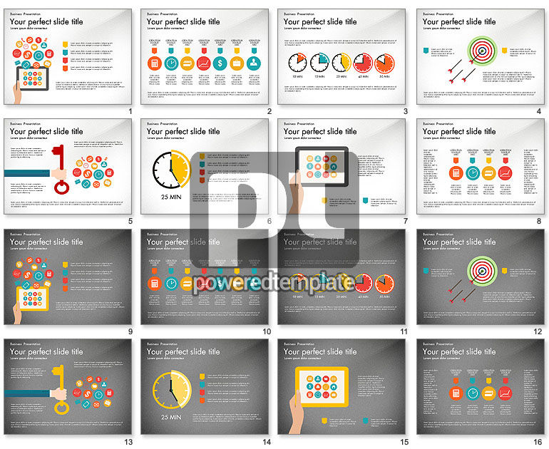 Mobile Application Management Presentation Diagram
