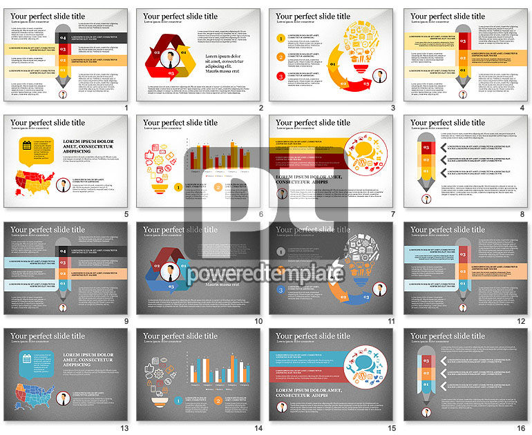 Business Presentation Infographic Toolbox