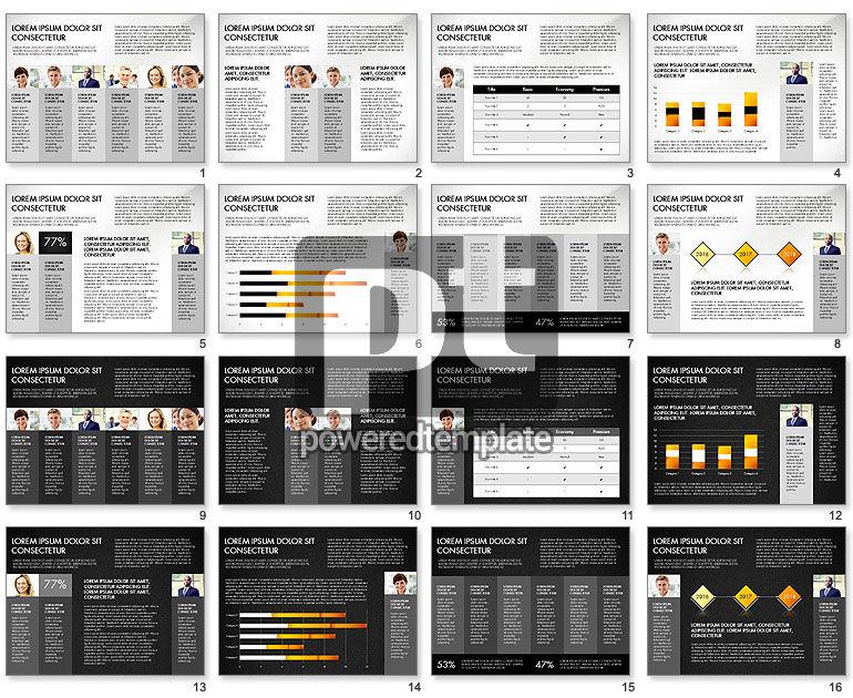 Company Report Concept