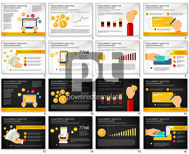 Financial Transactions Presentation Template