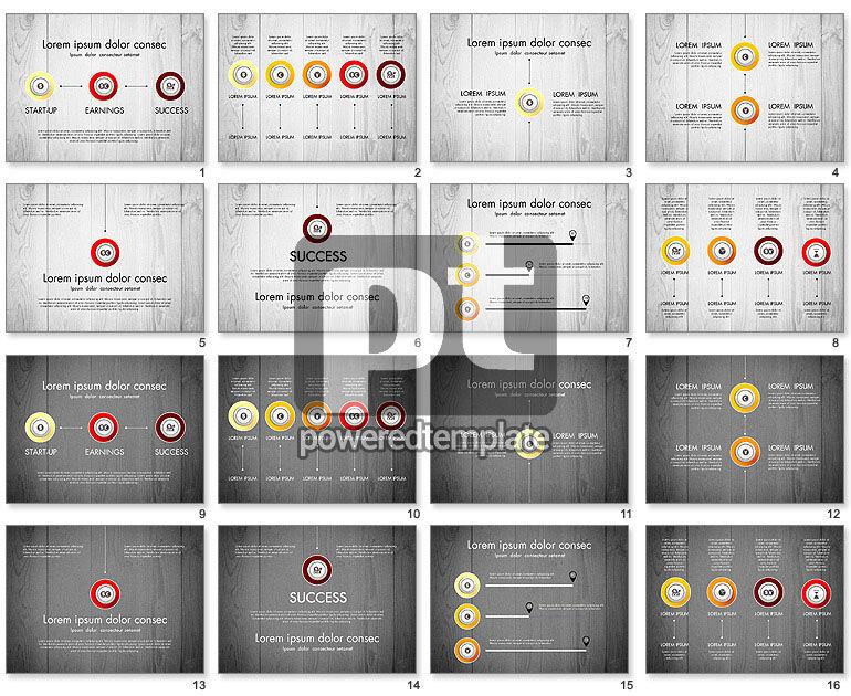 Startup Timeline Concept Diagram