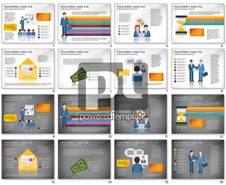 Business People Presentation Concept