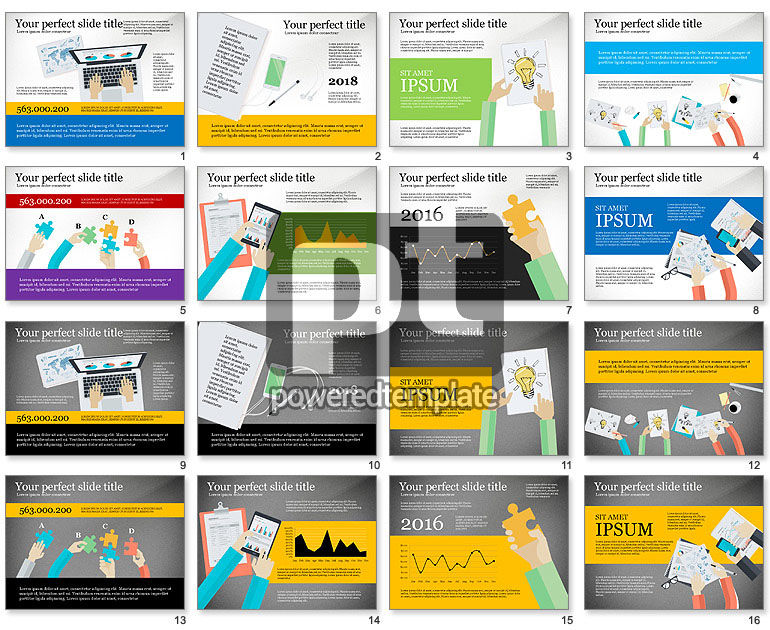 Creative Idea Presentation Template