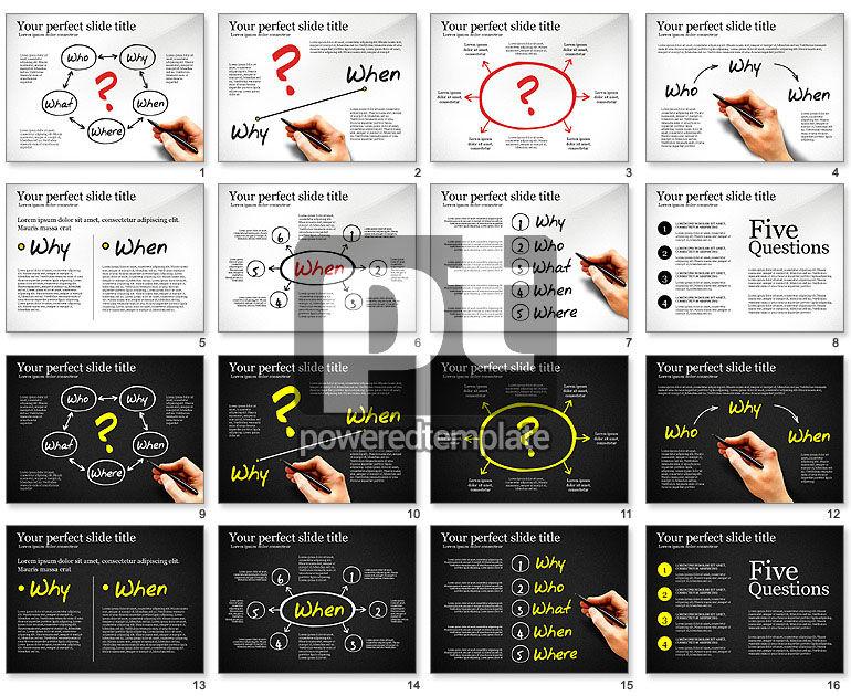 Five Ws Presentation Concept