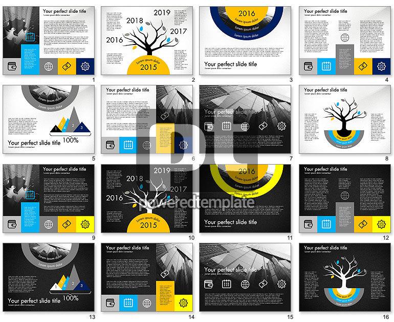 Company Profile Presentation in Flat Design Style