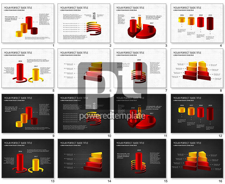 Presentation with 3D Shapes Toolbox