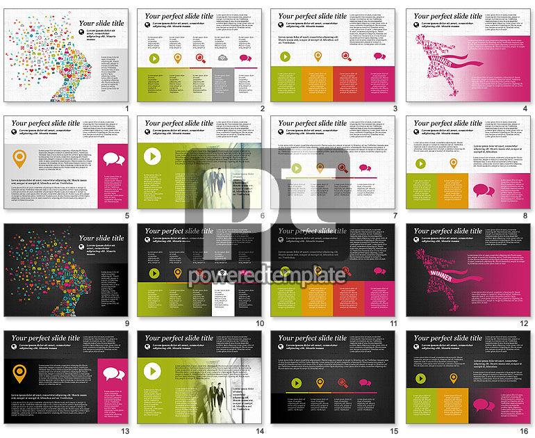 Flat Designed Creative Presentation Template