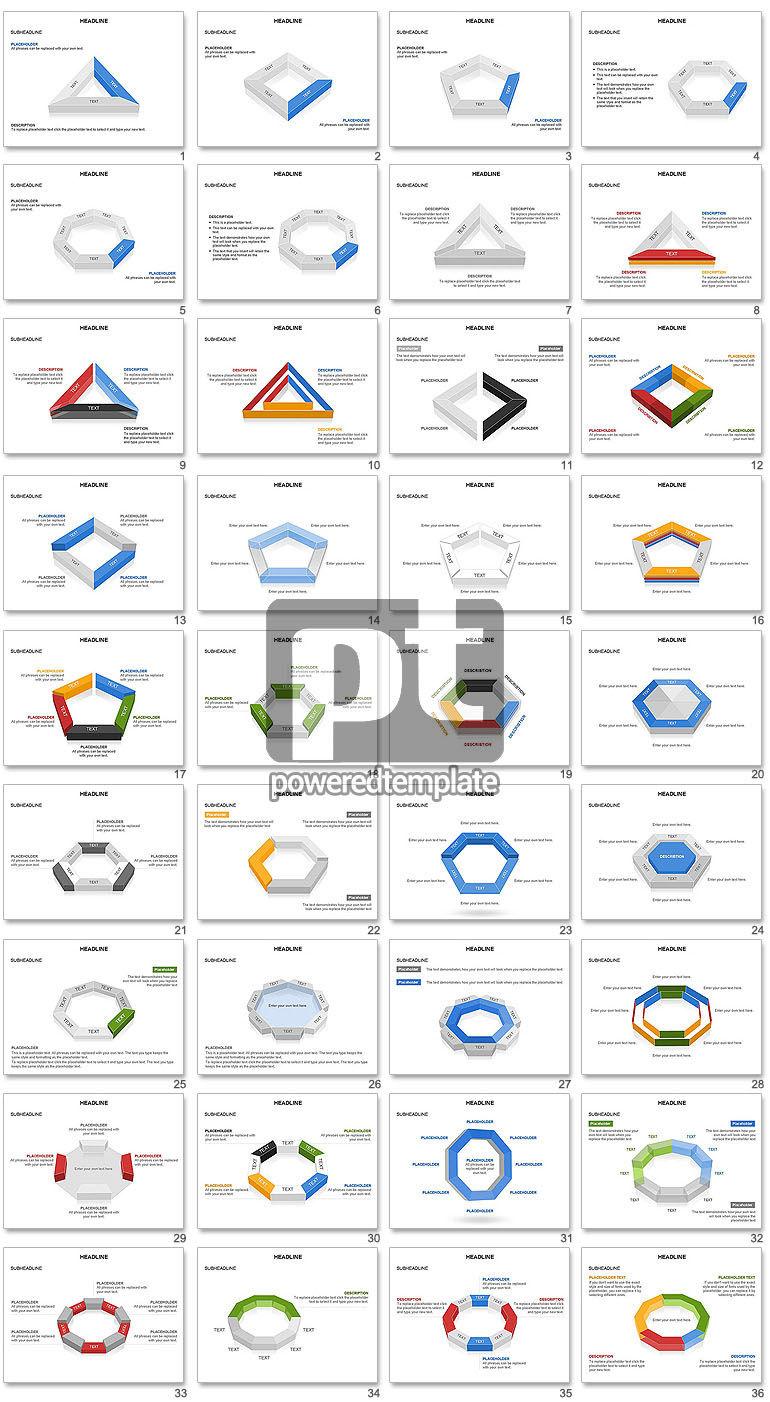 Geometric Shapes Truncated Rectangle