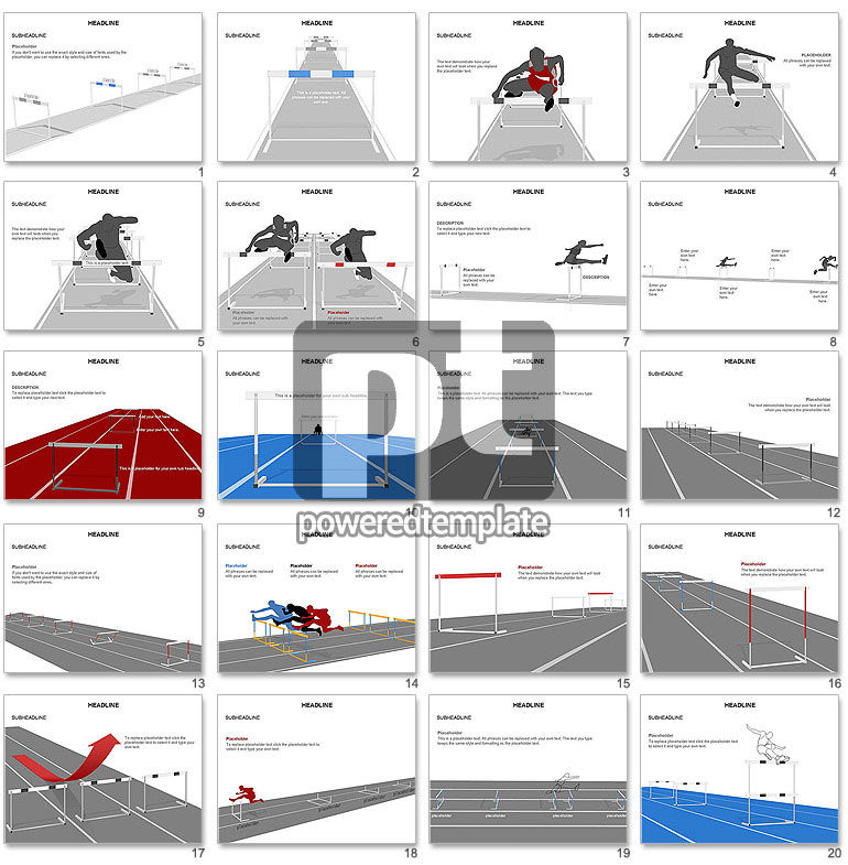 Steeplechase Shapes