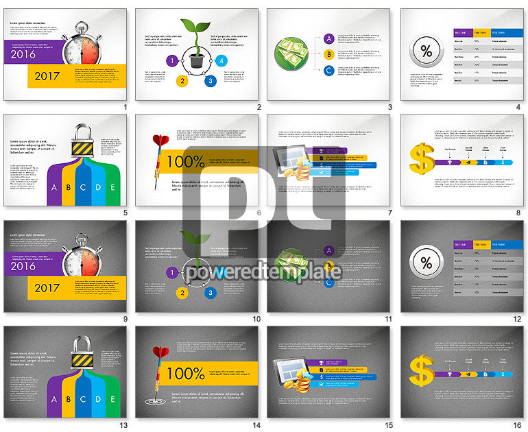 Time and Money Presentation Concept