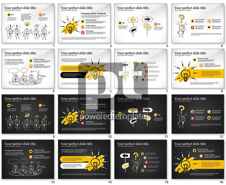 Idea Development Doodles Presentation Template