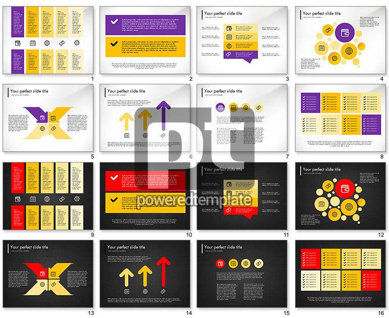 Flat Designed Fresh Presentation Concept