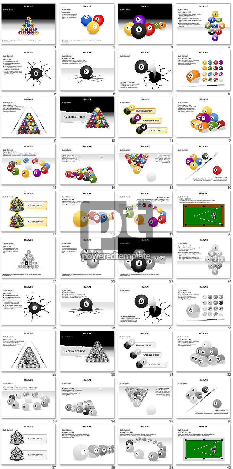 Billiards Shapes and Diagrams