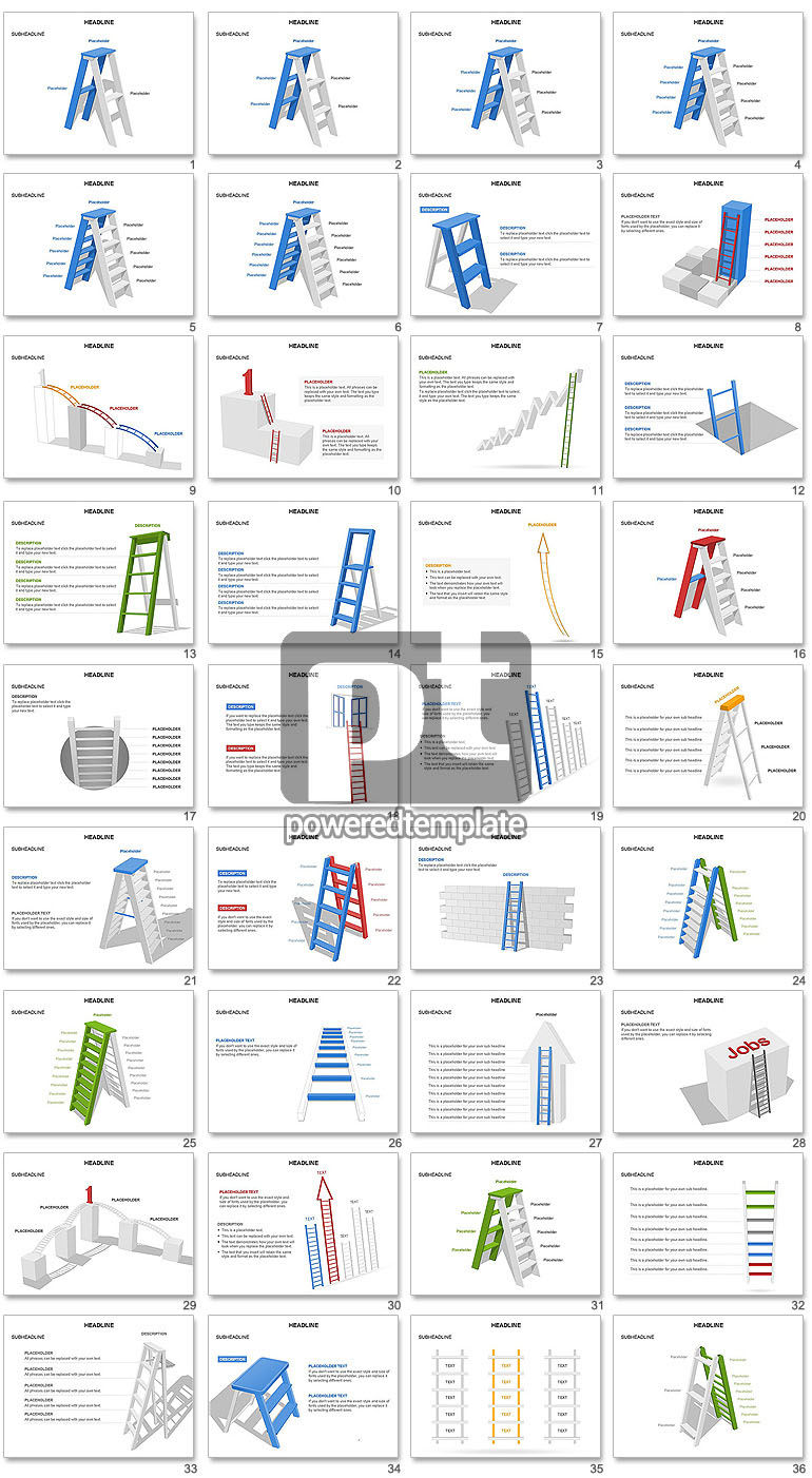 Folding Ladder Diagrams