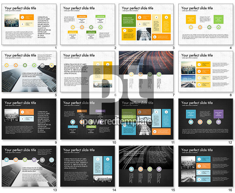 Process and Stages Presentation Concept