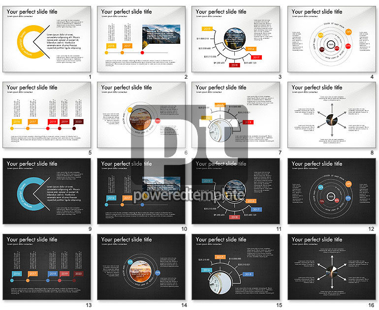 Slide Deck with Orbit Charts
