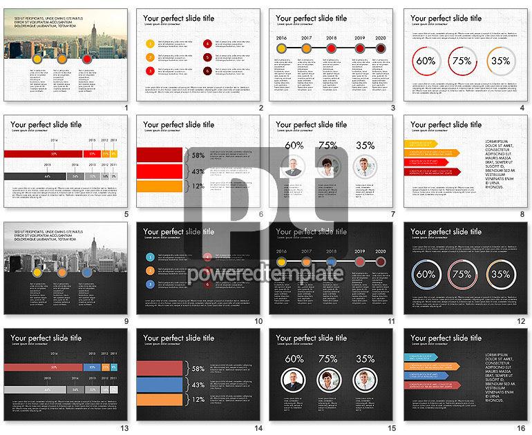 Business Focused Presentation Template