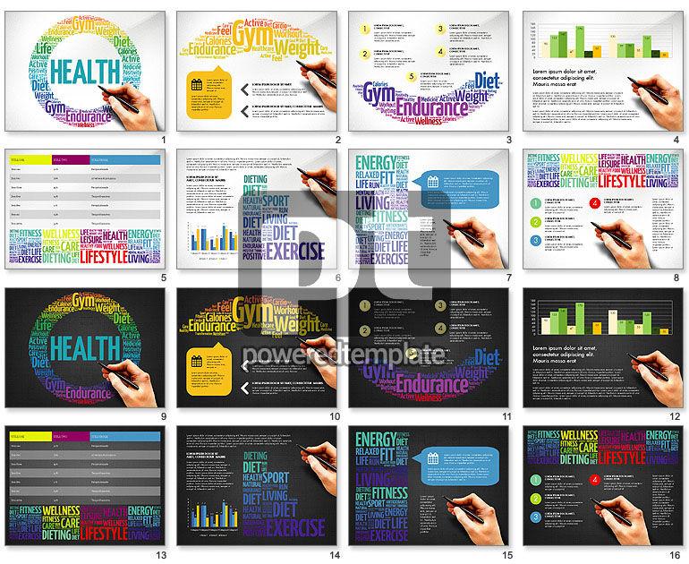 Health Presentation Concept