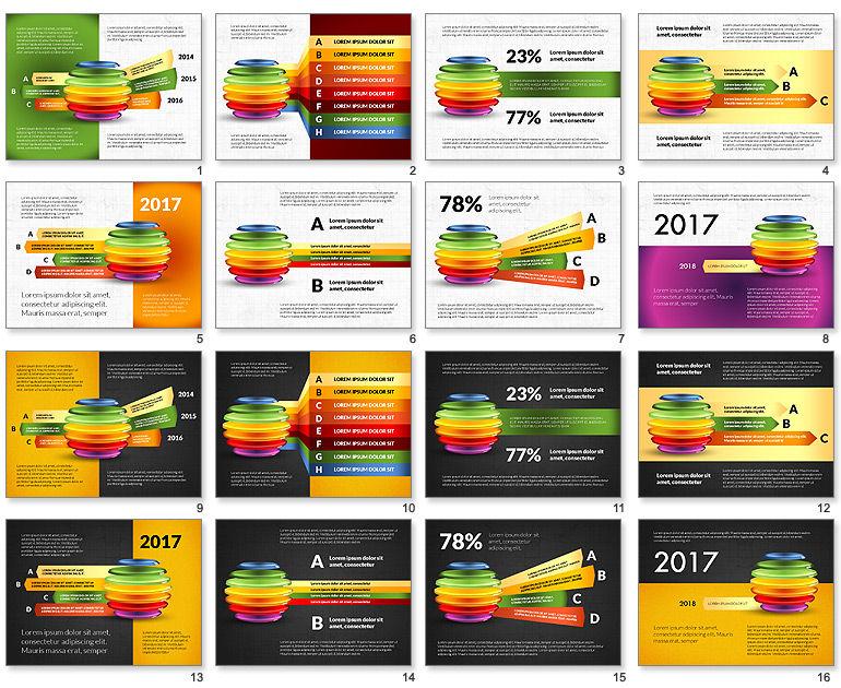 Sliced Sphere Infographics