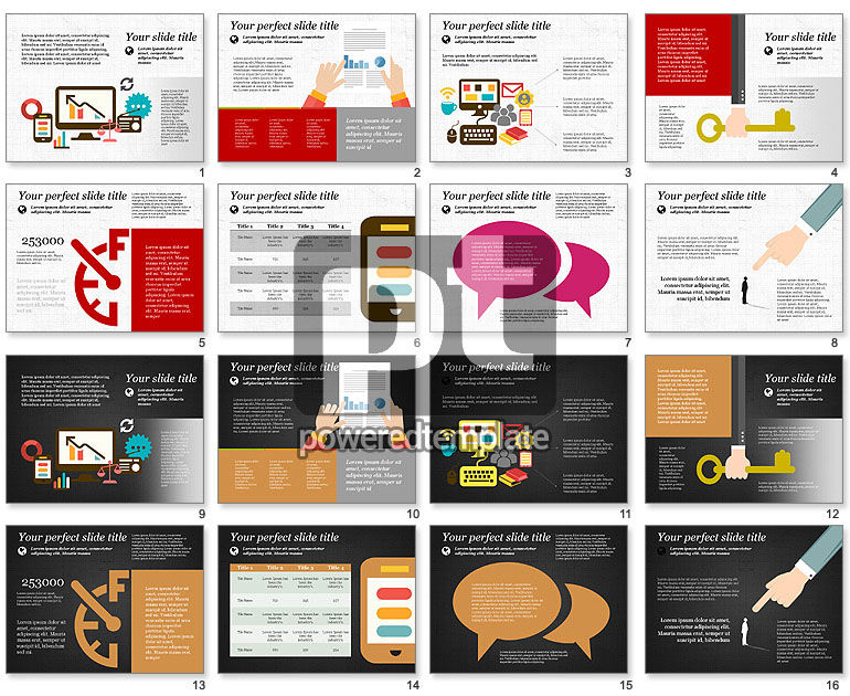 Illustrative Presentation Template