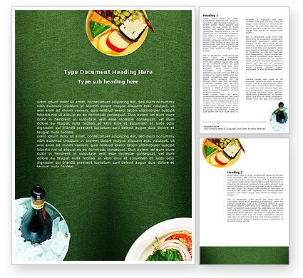 Food & Beverage: Banquet Word Template #00725