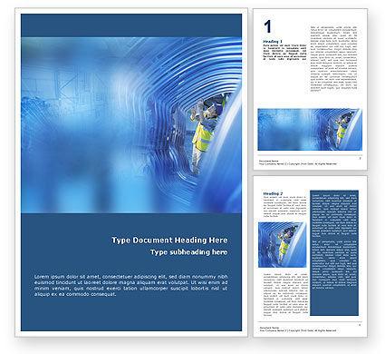 Engineering Word Template, 01548, Utilities/Industrial — PoweredTemplate.com