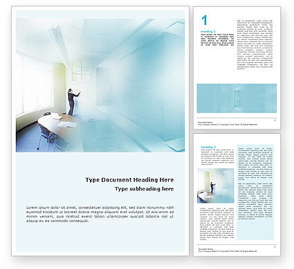Training In A Blue Room Word Template