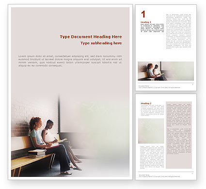 Education & Training: Learn To Word Template #01666