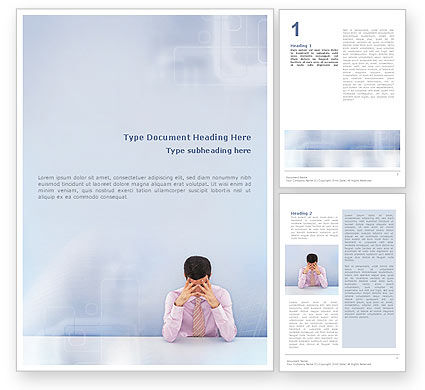 Consulting: Male Health Word Template #01799