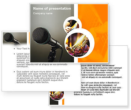 powerpoint themes music. Music Concert PowerPoint