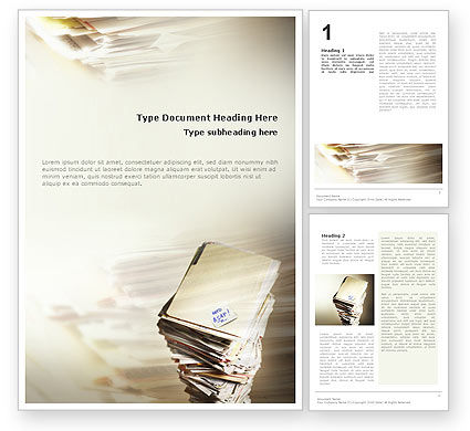 Feature Article Word Templates Design Download Now