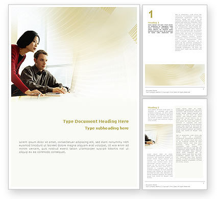 Consulting: Business Consulting Session Word Template #02003
